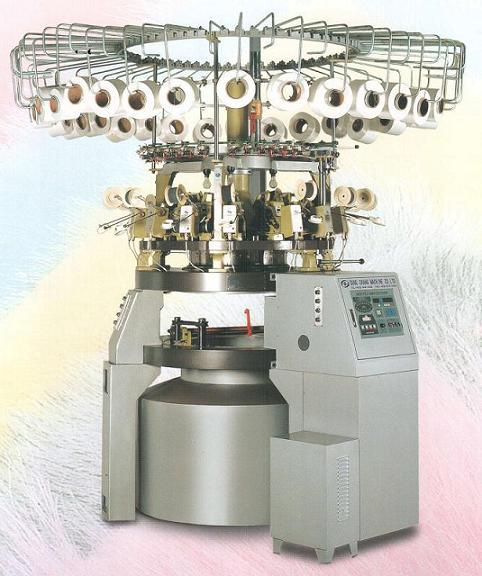 SCM knitting / textile machine : high pile